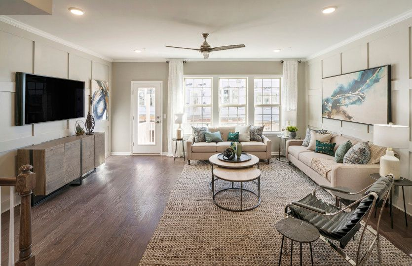 Living Area featured in the Fairwood By Pulte Homes in Essex County, NJ