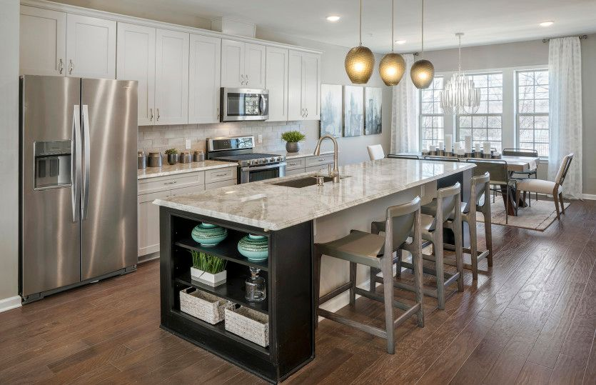 Kitchen featured in the Fairwood By Pulte Homes in Essex County, NJ