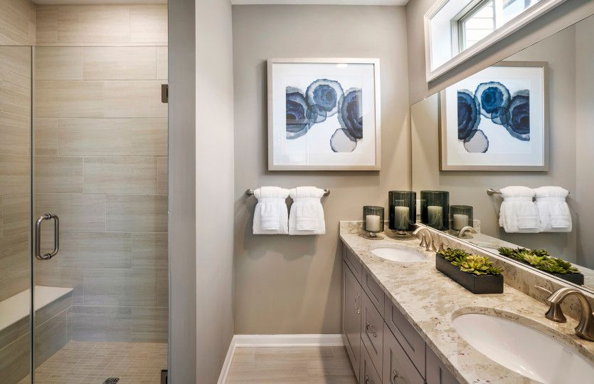 Bathroom featured in the Fairwood By Pulte Homes in Essex County, NJ