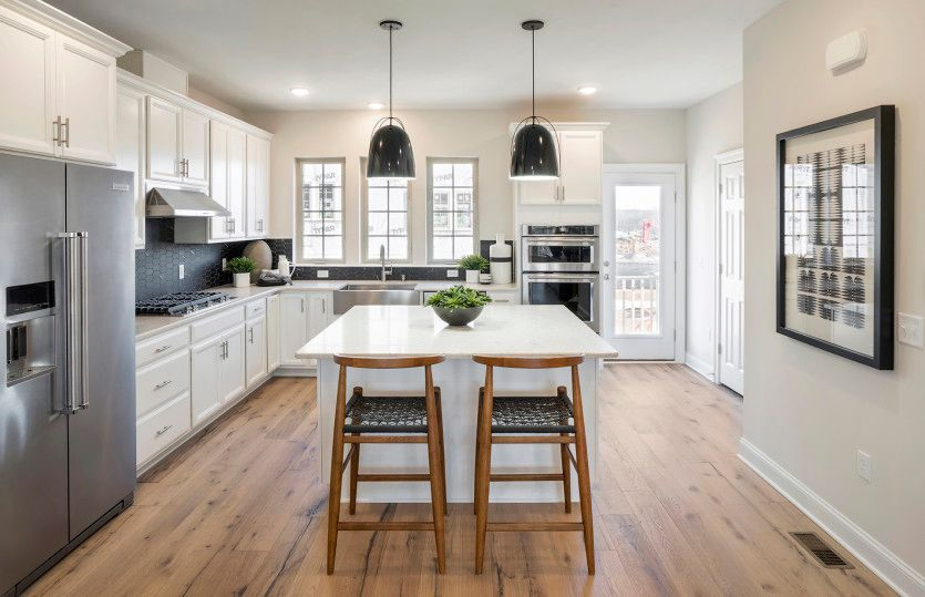 Kitchen featured in the Frankton By Pulte Homes in Essex County, NJ