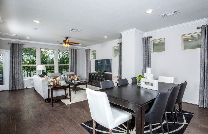 Living Area featured in the Mathis By Pulte Homes in Houston, TX