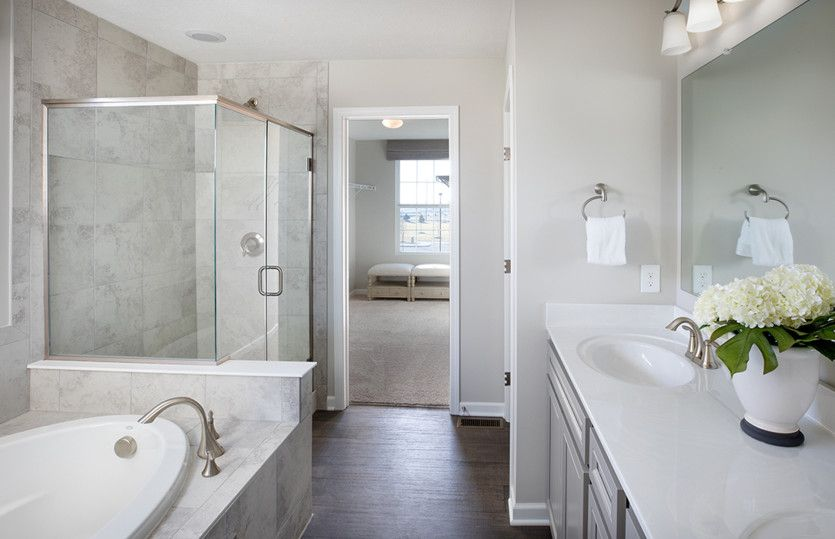 Bathroom featured in the Greenfield By Pulte Homes in Columbus, OH