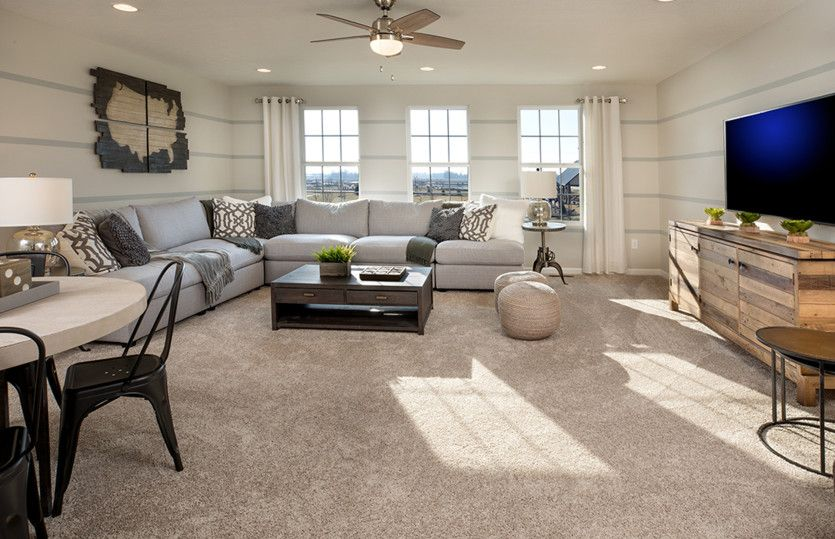 Living Area featured in the Greenfield By Pulte Homes in Columbus, OH