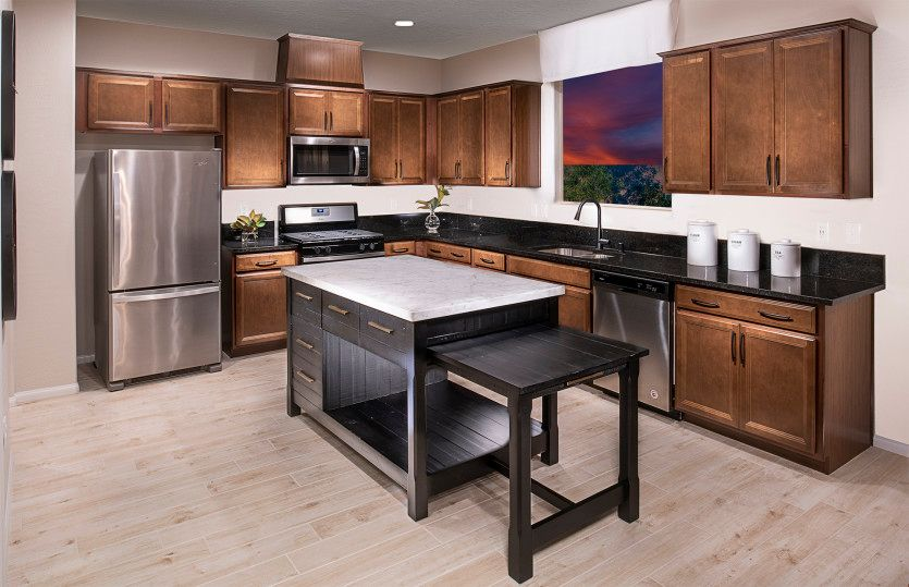 Kitchen-in-Camelia-at-Catalina-in-North Las Vegas