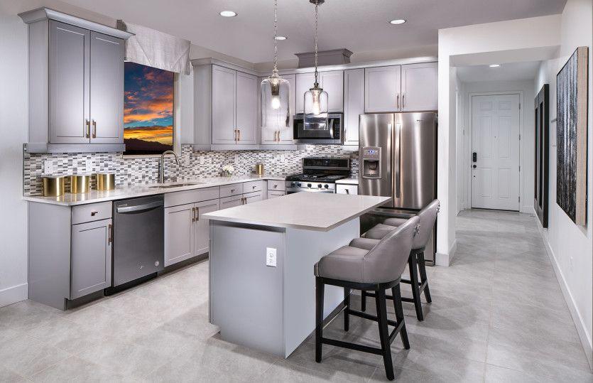 Kitchen-in-Hewitt-at-Catalina-in-North Las Vegas