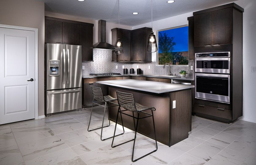 Kitchen-in-Modena-at-Catalina-in-North Las Vegas