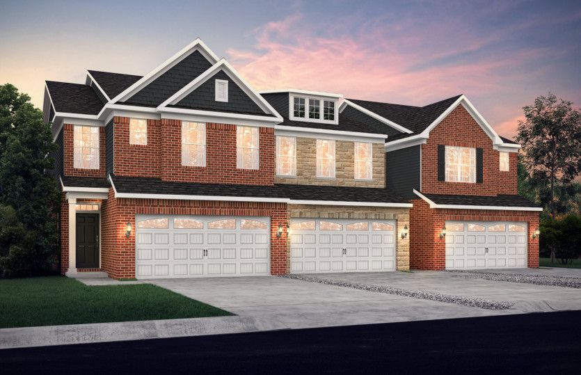 Exterior featured in the Rainier By Pulte Homes in Detroit, MI