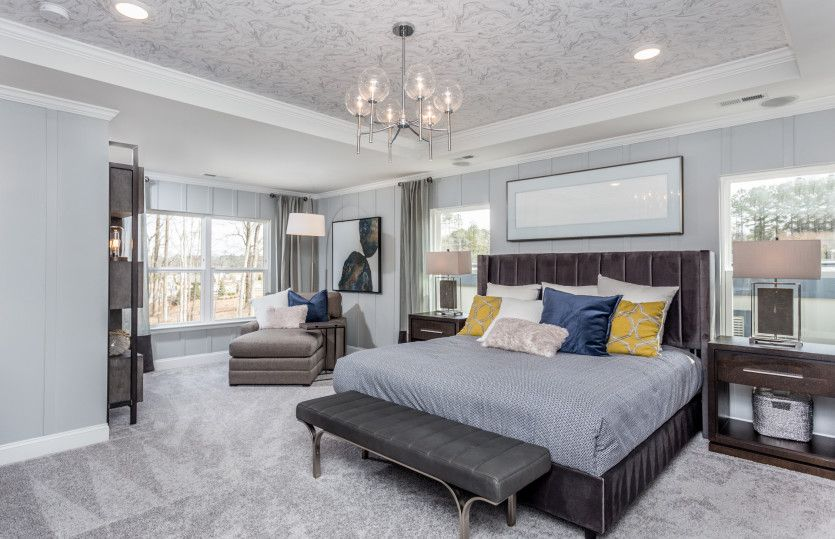 Bedroom featured in the Mercer By Pulte Homes in Raleigh-Durham-Chapel Hill, NC