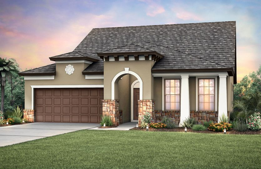 Exterior featured in the Summerwood By Pulte Homes in Jacksonville-St. Augustine, FL