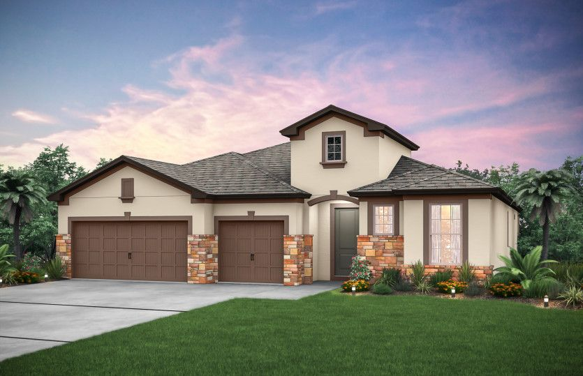 Exterior featured in the Stonehaven By Pulte Homes in Tampa-St. Petersburg, FL