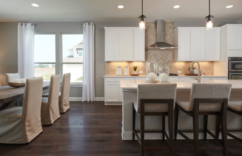 Kitchen featured in the Fox Hollow By Pulte Homes in Austin, TX