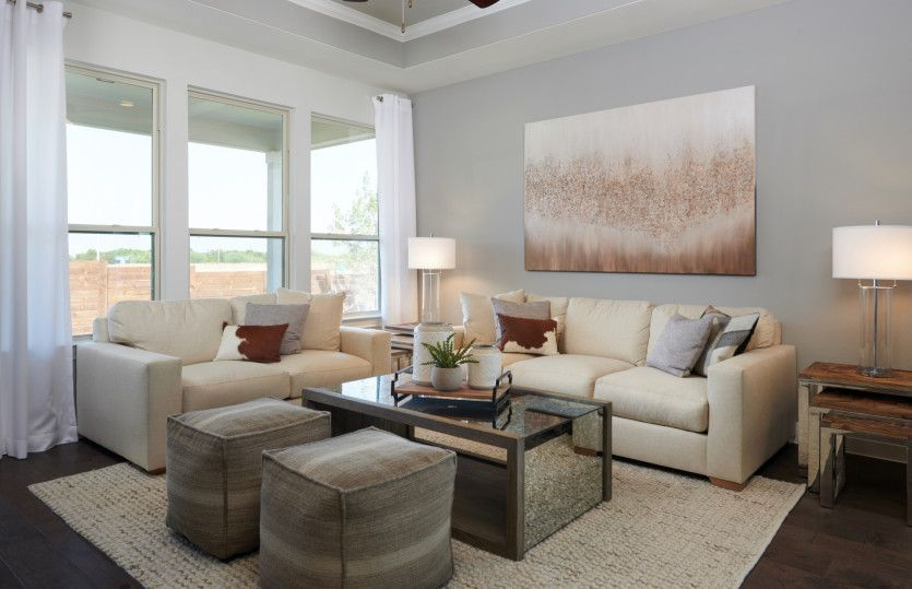 Living Area featured in the Fox Hollow By Pulte Homes in Austin, TX