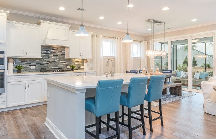 Kitchen featured in the Continental By Pulte Homes in Wilmington, NC