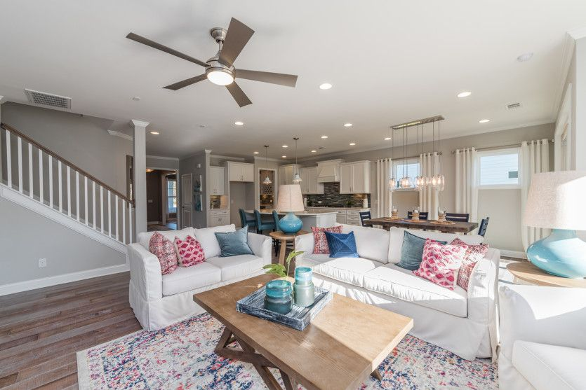 Living Area featured in the Continental By Pulte Homes in Wilmington, NC