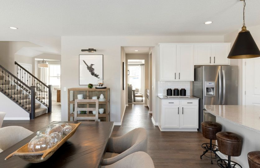 Kitchen featured in the Riverton By Pulte Homes in Minneapolis-St. Paul, MN