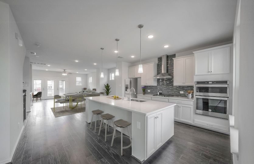 Kitchen featured in the Lindley By Pulte Homes in Houston, TX