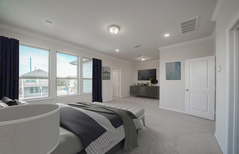 Bedroom featured in the Lindley By Pulte Homes in Houston, TX