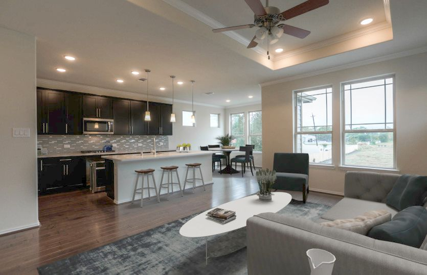 Living Area featured in the Appleridge By Pulte Homes in Houston, TX
