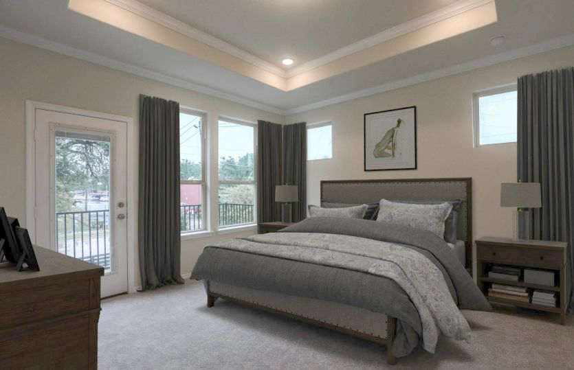 Bedroom featured in the Appleridge By Pulte Homes in Houston, TX