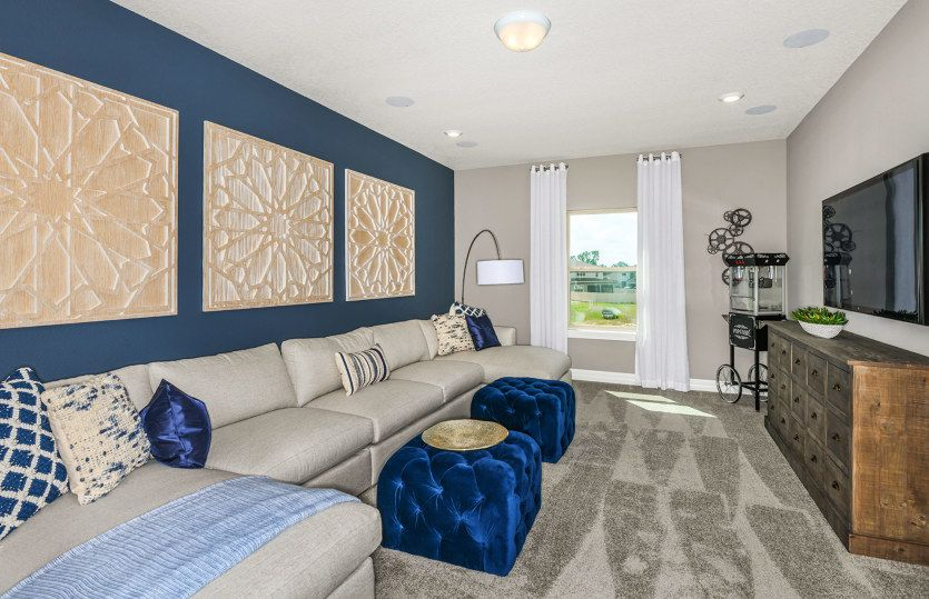 Living Area featured in the Upton By Pulte Homes in Naples, FL