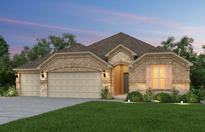 McKinney - 3-Car Garage