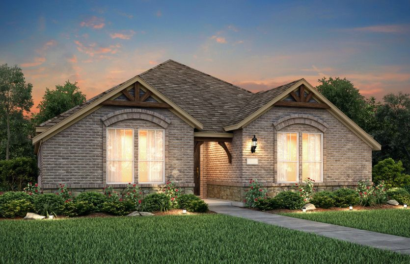 Exterior featured in the Arbordale By Pulte Homes in Dallas, TX