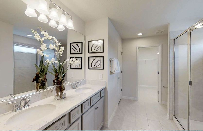 Bathroom featured in the Winstone By Pulte Homes in Lakeland-Winter Haven, FL