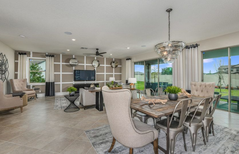 Living Area featured in the Oakhurst By Pulte Homes in Naples, FL
