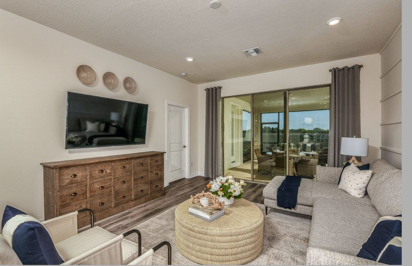 Living Area featured in the Serenity By Pulte Homes in Tampa-St. Petersburg, FL