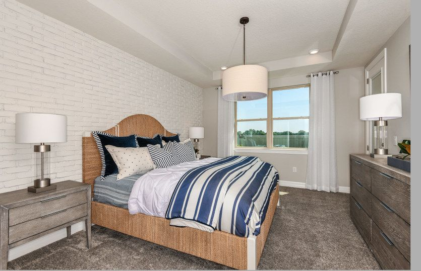 Bedroom featured in the Serenity By Pulte Homes in Tampa-St. Petersburg, FL