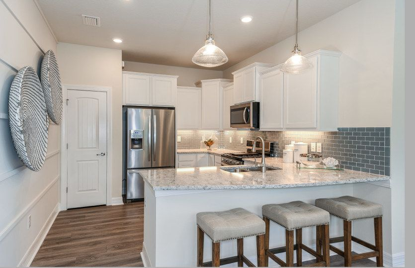 Kitchen featured in the Serenity By Pulte Homes in Palm Beach County, FL