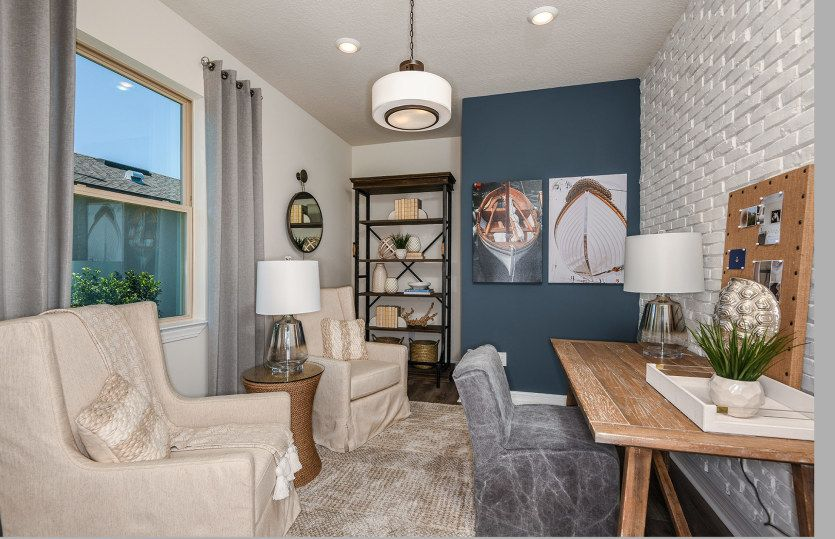 Living Area featured in the Serenity By Pulte Homes in Palm Beach County, FL