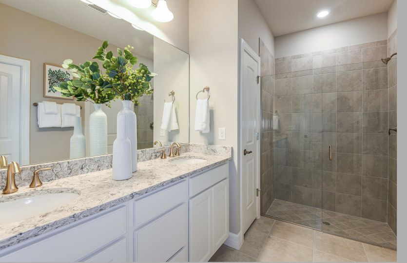 Bathroom featured in the Serenity By Pulte Homes in Palm Beach County, FL