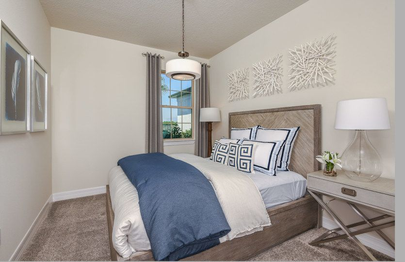 Bedroom featured in the Serenity By Pulte Homes in Palm Beach County, FL