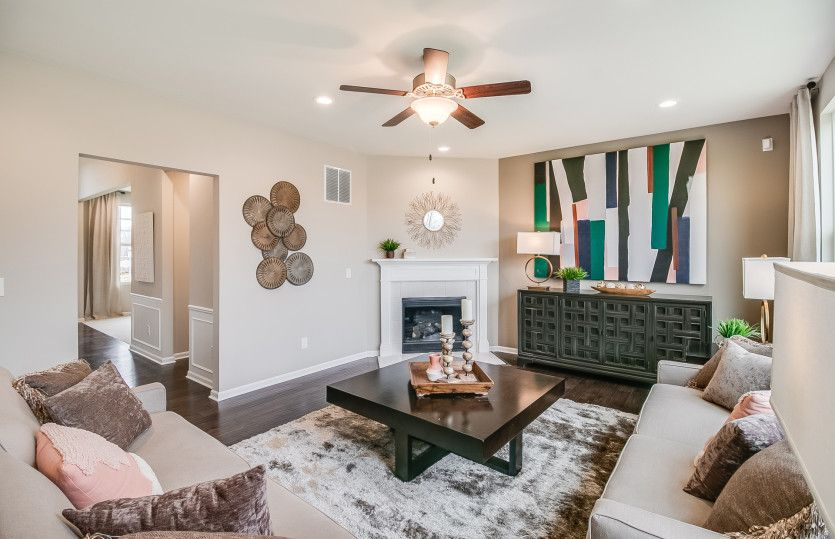 Living Area featured in the Lauren By Pulte Homes in Ann Arbor, MI