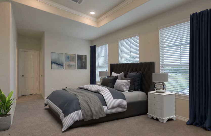 Bedroom featured in the Rosenberg By Pulte Homes in Houston, TX