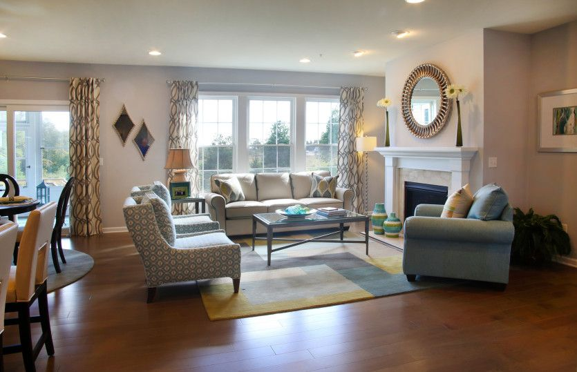 Living Area featured in the Continental By Pulte Homes in Boston, MA