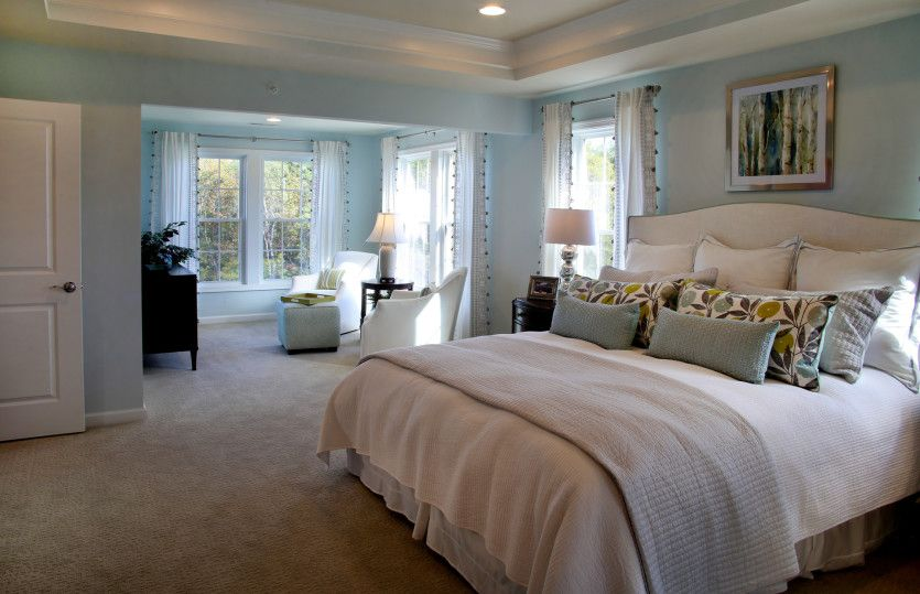 Bedroom featured in the Continental By Pulte Homes in Boston, MA