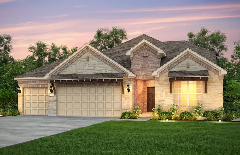 Exterior featured in the Mooreville By Pulte Homes in Fort Worth, TX