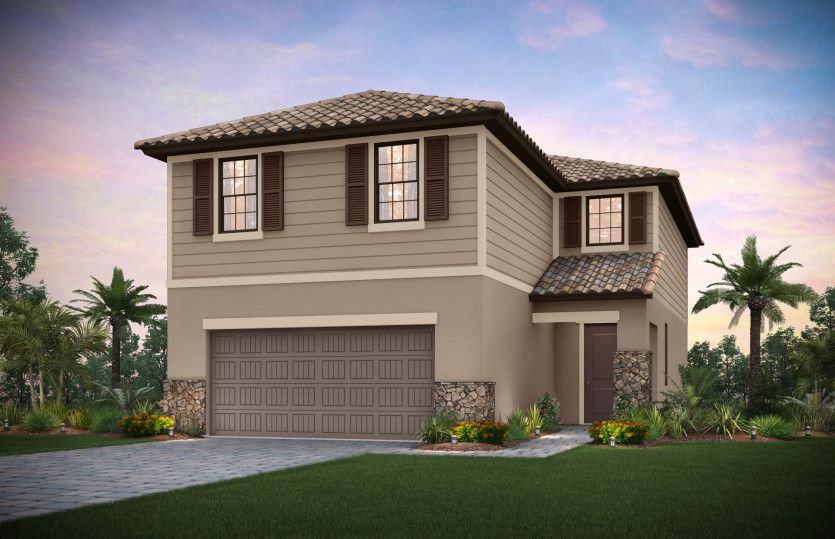 Exterior featured in the Driftwood By Pulte Homes in Fort Myers, FL