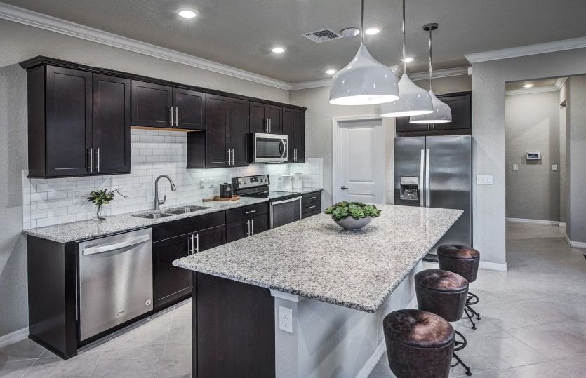 Kitchen featured in the Grayton By Pulte Homes in Palm Beach County, FL
