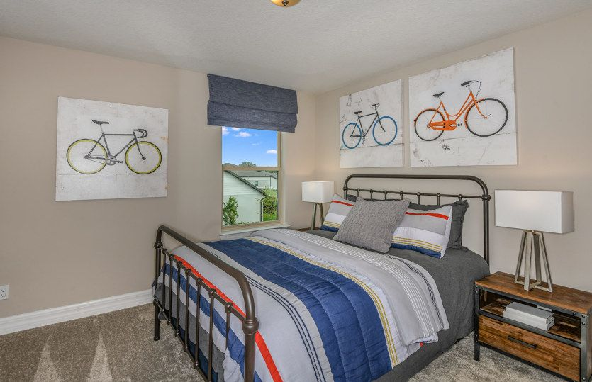 Bedroom featured in the Mariner By Pulte Homes in Orlando, FL