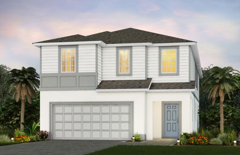 Exterior featured in the Seashore By Pulte Homes in Orlando, FL