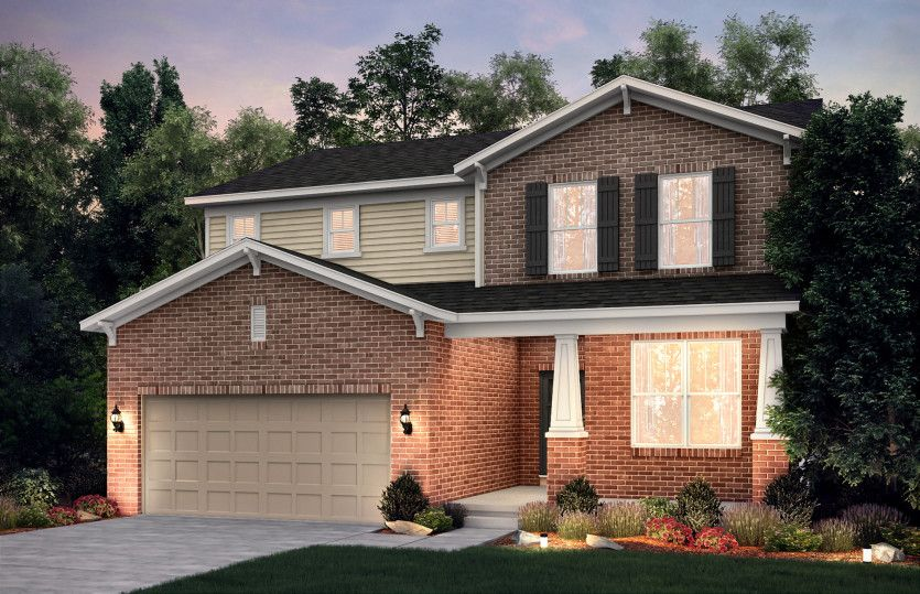 Exterior featured in the Newberry By Pulte Homes in Detroit, MI