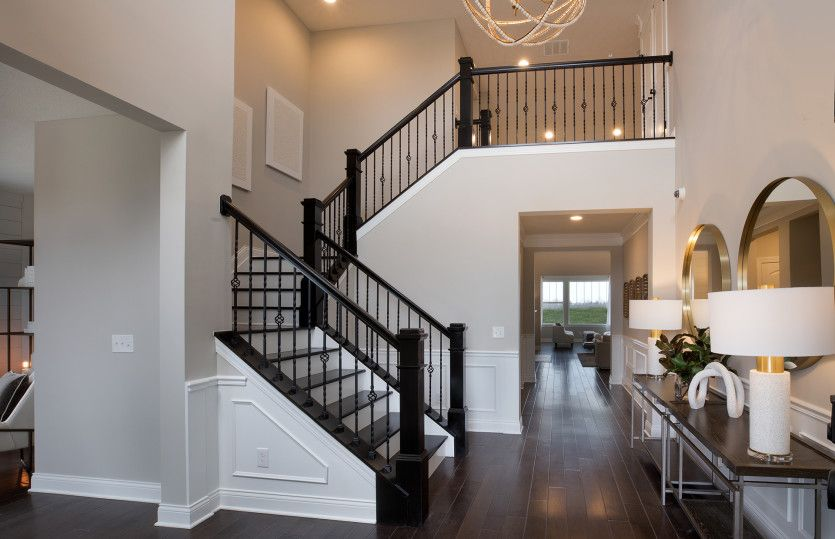 Living Area featured in the Bourges By Pulte Homes in Columbus, OH