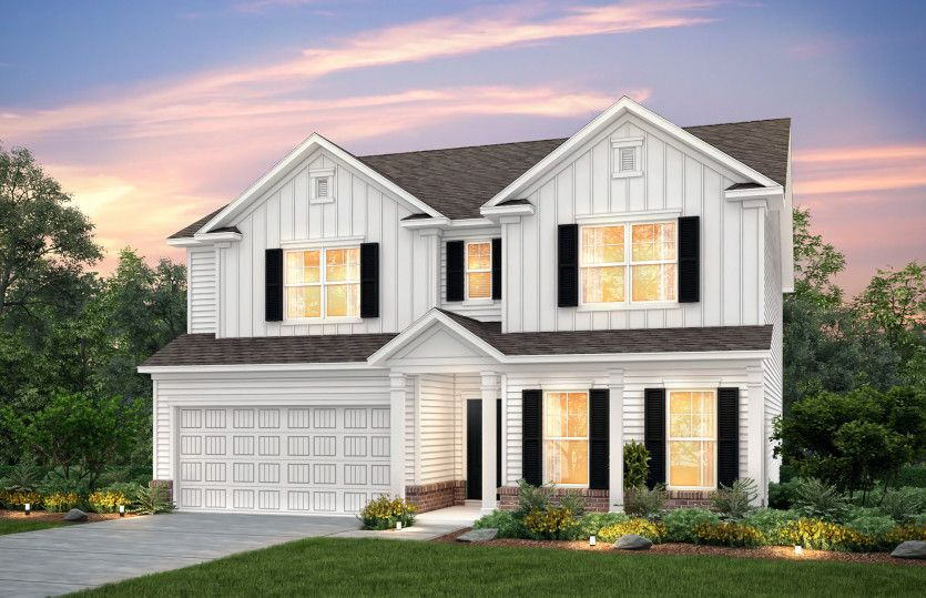 Exterior featured in the Mitchell By Pulte Homes in Myrtle Beach, SC