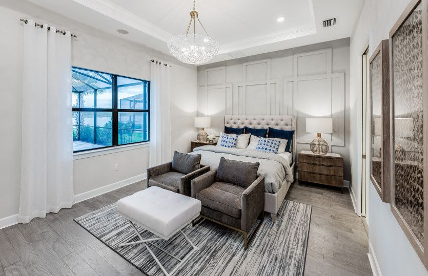 Bedroom featured in the Pinnacle By Pulte Homes in Fort Myers, FL