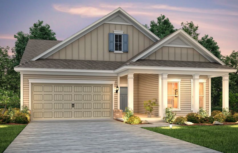 Exterior featured in the Abbeyville By Pulte Homes in Myrtle Beach, SC