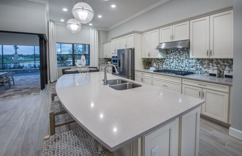 Kitchen featured in the Pompeii By Pulte Homes in Naples, FL