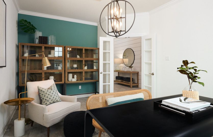 Living Area featured in the Lexington By Pulte Homes in Austin, TX